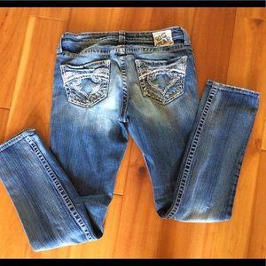 Big Star Maddie skinny jeans size 29R x 31